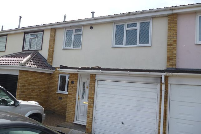 Thumbnail Terraced house to rent in Chevington Way, Hornchurch