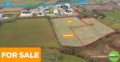 Thumbnail Land for sale in Phase 5 Stratton Business Park, Pegasus Drive, Biggleswade, Bedfordshire