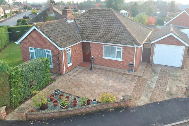 Thumbnail Detached bungalow for sale in Bishoptyne Avenue, Dereham