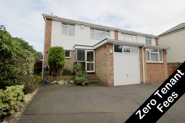Thumbnail Semi-detached house to rent in Duncan Road, Park Gate, Southampton