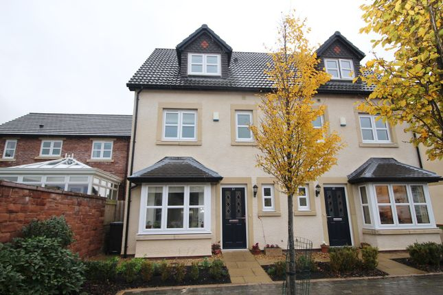 Thumbnail Town house for sale in Bishops Way, Dalston, Carlisle