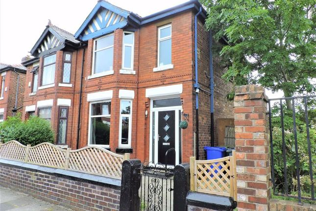Thumbnail Semi-detached house for sale in Langdale Avenue, Levenshulme, Manchester