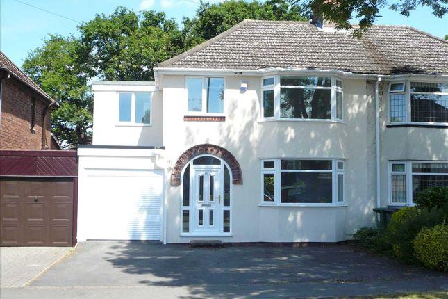 Thumbnail Semi-detached house for sale in D'eyncourt Road, Wednesfield, Wednesfield