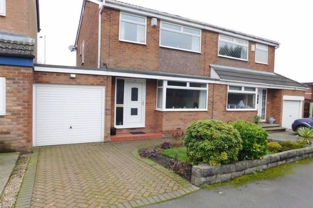 Thumbnail Semi-detached house for sale in Brooklands Drive, Littlemoss, Manchester