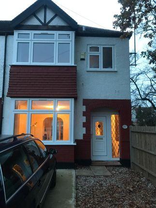 Thumbnail Semi-detached house to rent in Long Lane, London