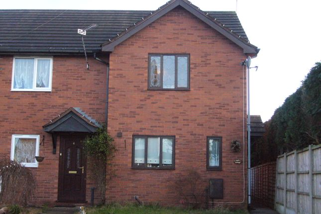 Thumbnail End terrace house to rent in Clive Gardens, Market Drayton