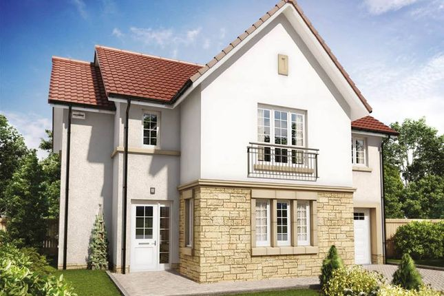 "Thumbnail Detached house for sale in ""Cleland"" at Penicuik Road, Roslin"