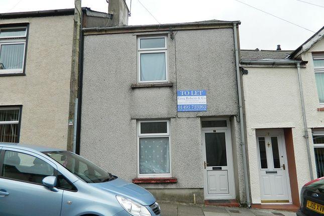 Thumbnail Terraced house to rent in Glamorgan Street, Brynmawr, Blaenau Gwent.