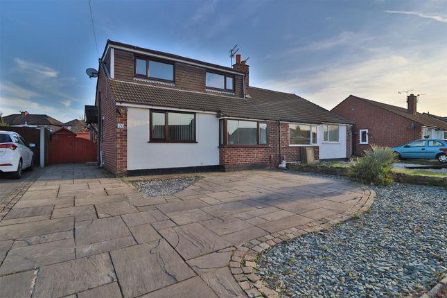 Thumbnail Semi-detached bungalow to rent in Prestbury Drive, Thelwall, Warrington