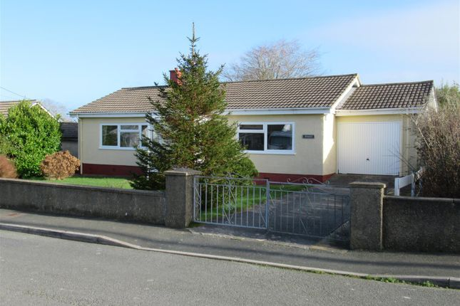 Thumbnail Detached bungalow for sale in Brwynant, Spring Hill, Dinas Cross, Newport