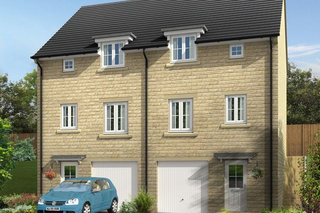 """Thumbnail Semi-detached house for sale in """"Fenstanton"""" at North Dean Avenue, Keighley"""