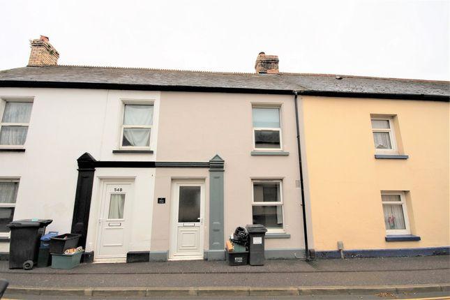 Thumbnail Cottage to rent in Fore Street, Kingsteignton, Devon