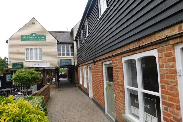 Thumbnail Retail premises to let in 38 High Street, Maldon