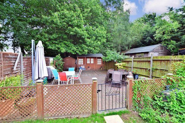 Rear Garden of Maidstone Road, Wigmore, Gillingham, Kent ME8