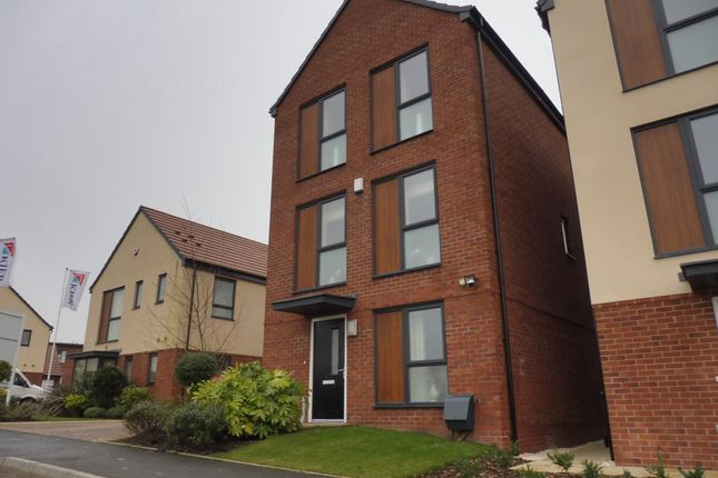 Thumbnail Link-detached house for sale in Living Well Street, West Bromwich