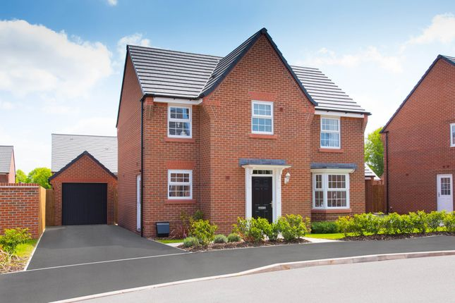 "Thumbnail Detached house for sale in ""Mitchell"" at Swanlow Lane, Winsford"