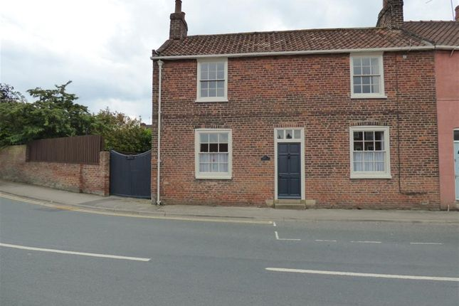 Thumbnail End terrace house for sale in Beckside, Beverley