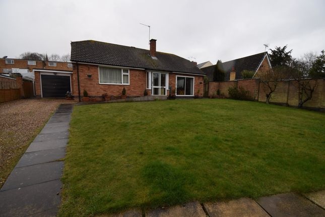 Thumbnail Detached bungalow for sale in Lobbs Wood Close, Humberstone, Leicester