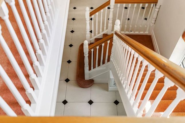 Staircase of Babylon Lane, Lower Kingswood, Tadworth, Surrey KT20