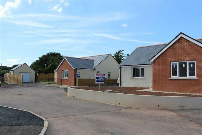 Thumbnail Detached bungalow for sale in Bowett Close, Hundleton, Pembroke