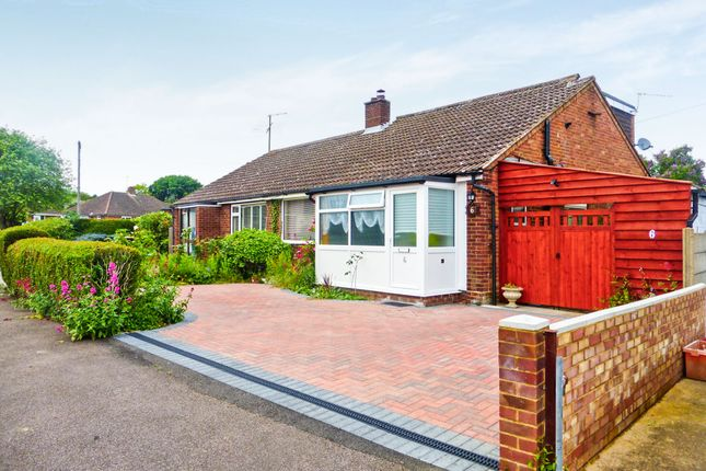 Thumbnail Semi-detached bungalow for sale in Tudor Close, Bromham, Bedford