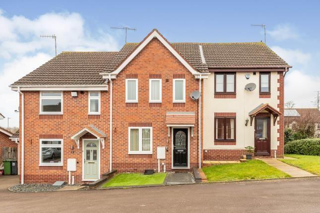 Thumbnail Terraced house for sale in Combroke Grove, Hatton Park, Warwick, Warwickshire