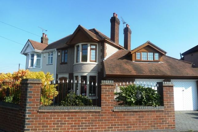 Thumbnail Semi-detached house for sale in Newdigate Road, Bedworth