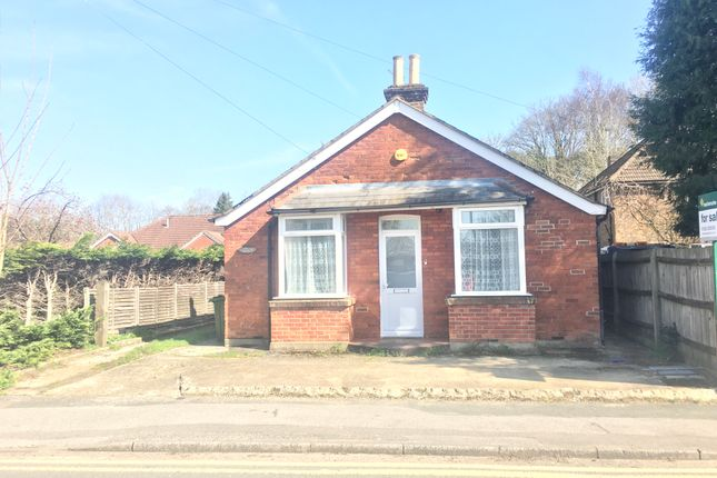 Thumbnail Bungalow to rent in Frimley Road, Ash Vale, Surrey
