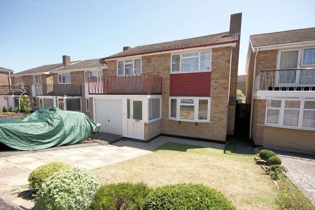 Thumbnail Detached house for sale in Gale Moor Avenue, Gosport