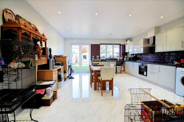 Thumbnail 4 bed terraced house to rent in Winchester Avenue, Kingsbury, London