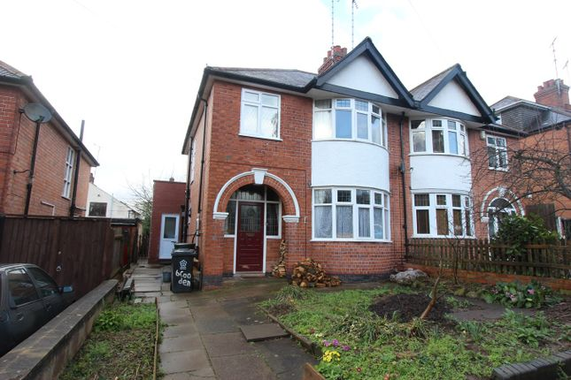 Thumbnail Semi-detached house for sale in Cooden Avenue, Leicester