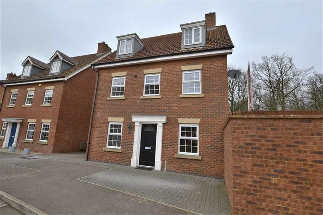 Thumbnail Detached house for sale in Whernside Drive, Stevenage, Herts