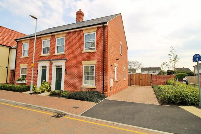 Thumbnail Semi-detached house for sale in Cambridge Drive, Lawford, Manningtree