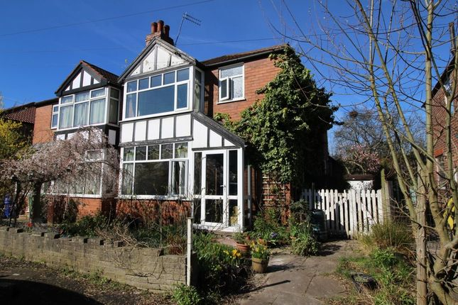 Thumbnail Semi-detached house for sale in Saddlewood Avenue, Didsbury, Manchester