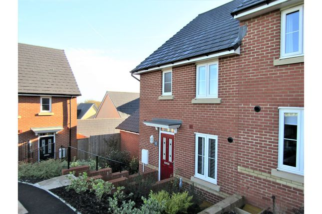 Thumbnail Semi-detached house for sale in Clover Drive, Dawlish