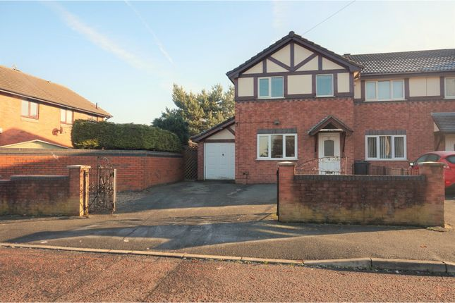 Thumbnail End terrace house for sale in Houlston Road, Liverpool