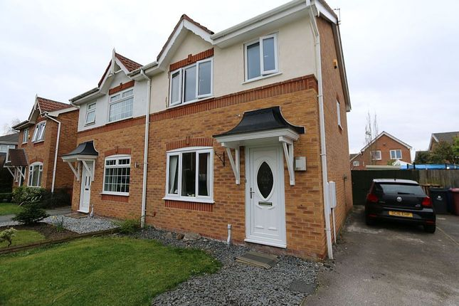 3 bed semi-detached house for sale in 15, 15 Heywood Gardens, Whiston, Prescot, Merseyside, 3Xd