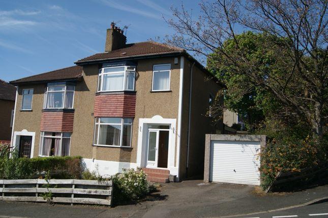 Thumbnail Semi-detached house to rent in Hillside Avenue, Bearsden