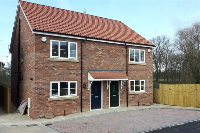 Thumbnail Semi-detached house for sale in Foss Court, Huntington Road, York