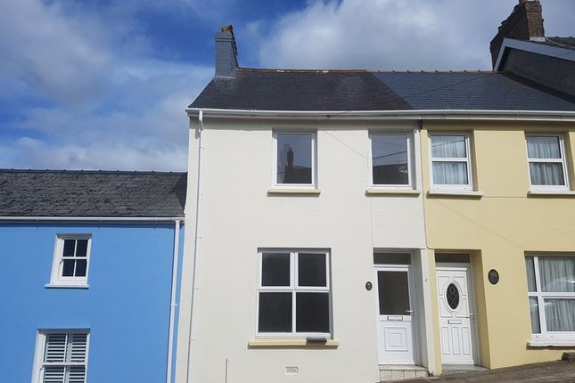 Thumbnail Terraced house to rent in Wallis Street, Fishguard