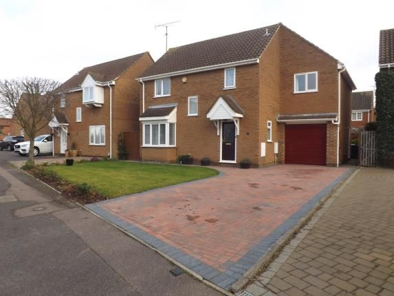 Thumbnail Detached house for sale in Lincoln Crescent, Biggleswade, Bedfordshire