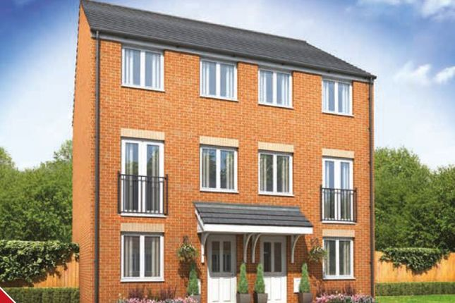 Thumbnail Town house for sale in Galileo, The Greyfriars, Cranbrook, Near Exeter