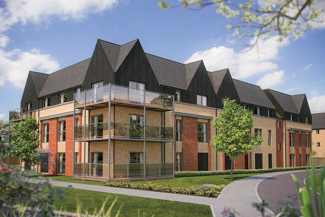 "Thumbnail Flat for sale in ""Stantone House"" at Station Road, Longstanton, Cambridge"