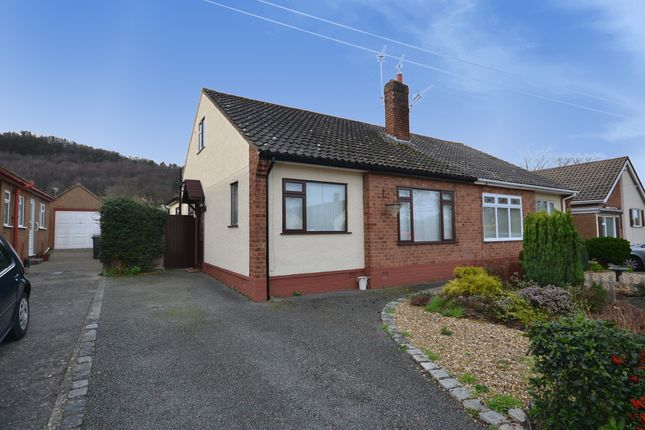Thumbnail Semi-detached bungalow to rent in The Dale, Abergele
