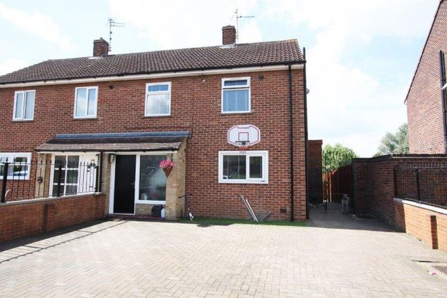Thumbnail Semi-detached house for sale in Pennine Way, Gunthorpe