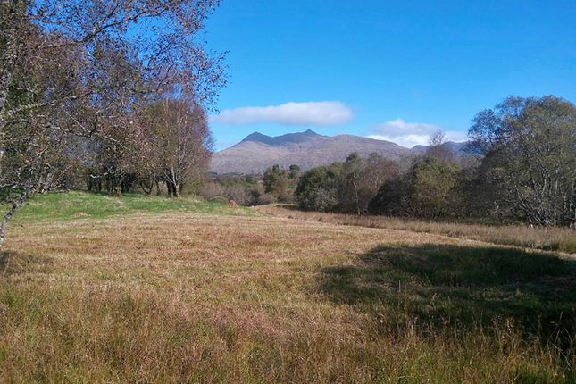 Thumbnail Land for sale in Kilchrenan, By Taynuilt