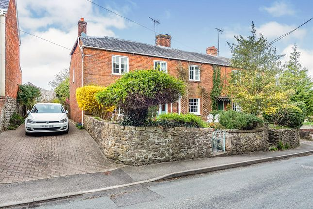 4 bed semi-detached house for sale in The Mercers, High Street, West Lavington, Devizes SN10