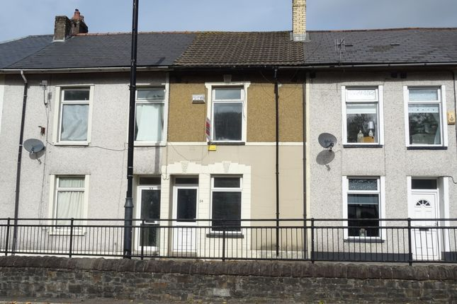 Thumbnail Terraced house to rent in High Street, Rhymney