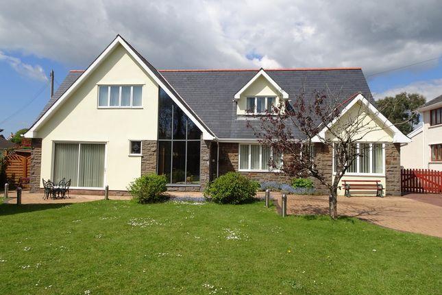 Thumbnail Detached house for sale in 'gandra', High Street, Laleston, Bridgend