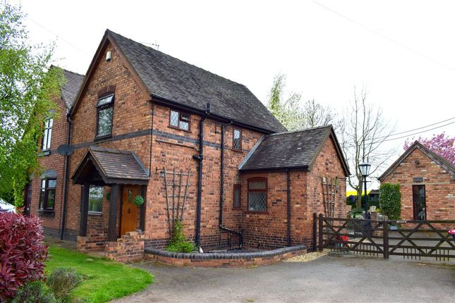 Thumbnail Semi-detached house for sale in Warton Lane, Grendon, Atherstone, Warwickshire